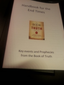 Book of Truth booklet