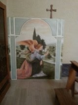 Painting of the Angel Loreto Hotel Chapel