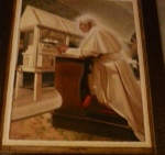 Benedict 16th in 2010 when he prayed at the tomb of Padre Pio