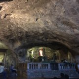 Altar in Cave where St Michael appeared Monte Sant Angelo
