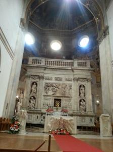 Huge Altar Loreto Church
