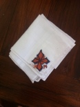 One of the handkerchiefs