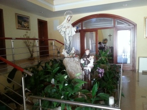 Statues Reception Foyer incl St Anthony and Our Lady