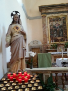 Statue of Sacred Heart Jesus
