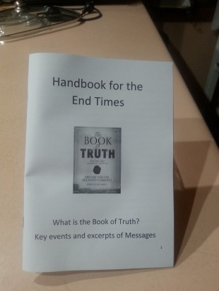What is the Book of Truth Nov 18