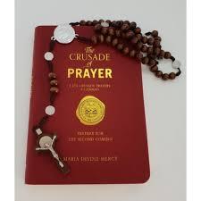 Crusade Prayer book with Rosary
