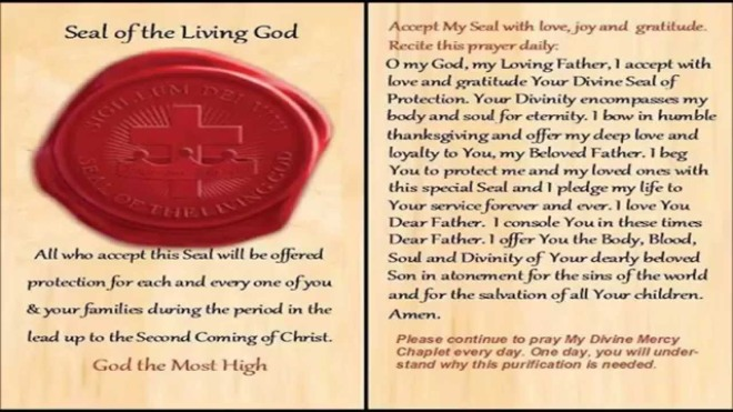 Seal of living God