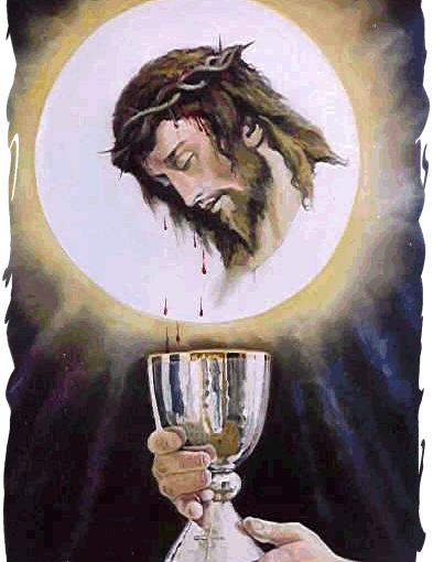 Consecrate all those close to you so that I can cover them with My Precious Blood