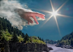 HAND OF GOD.