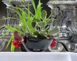 Pachamama riual bowl on altar