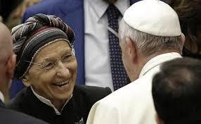 Francis and Emma Bonino