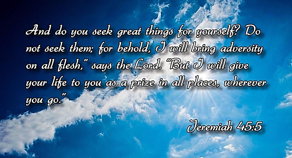 Jeremiah 45