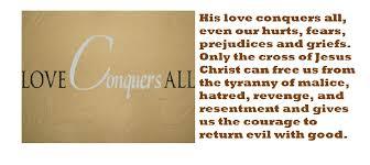 Love conqueras all